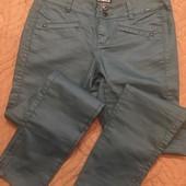 Женские стильные брюки с напылением 40/L/48
