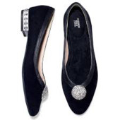 Замш натуральный-туфли из США -мягкая велюровая стелька (замеры в описании)