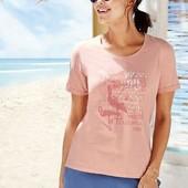 Нежная женская футболка Esmara. Размер L, евро 44-46