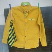 Рубашка Трансформер + Галстук в подарунок 122/128