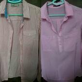 Класні сорочки і блузки - лот 1 на вибір