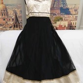Шикарное длинное платье с пышной юбочкой, размер XL-2XL.