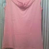 футболка-майка ярко-оранжевого цвета фирмы «Esprit».