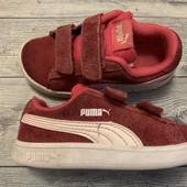 Отличные замшевые кроссовки Puma оригинал 26 стелька 17 см . Состояние отличное!