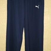 Спортивные мужские трикотажные  брюки без манжета р. М -2хL