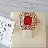 18р✓Невероятно красивое, необычное кольцо с шикарным камнем✓Реальные фото✓лоты собираю