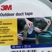 спец скотч 3M Outdoor duct tape 48mm*20m