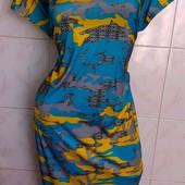 Новое,шикарное платье / холодок (масло) р. 50, 52 , 54, 56 размер на выбор