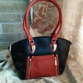 Качественная женская сумка. Много карманов и отделений.