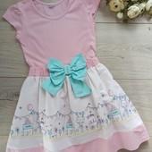 Платье для девочки 3-4года. Tu. Хорошее состояние.