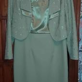 шикарный костюм(1 раз одет)смотрите фото и описание