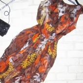Потрясающее воздушное платье с валанами