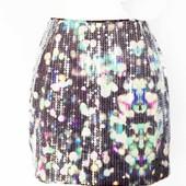 Вас могут спутать со звездой! шикарная юбка пайетки