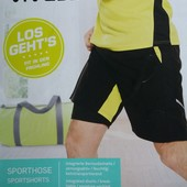 Vivess мужские функциональные шорты с интегрированными тайтсами Lidl Crivit Германия!