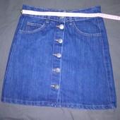 Юбка джинсова 42 розміру