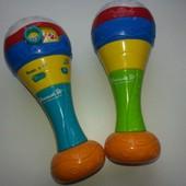 Маракасы. Музыкальная игрушка. Набор 2 штуки