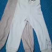 Набор 2шт, штанишки для мальчиков и девочек Lupilu размер 74/80(6-12 мес.) )