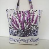 Лаванда! Стильная, оригинальная практичная сумка!