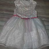Красивое нарядное платье в пайетку, но есть нюанс