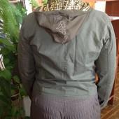 Натуральная куртка оригинального фасона, бренда Sportmen, р. 46-48