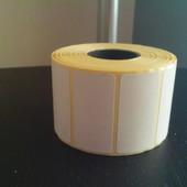 Самоклеющиеся наклейки для посылок или продуктов Размер 40мм*25мм В лоте 1000 шт