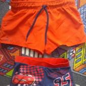 Декатлоновские шорты для плавания (новые) + плавочки