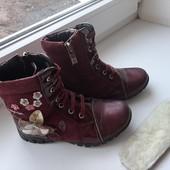 Ботинки весна шалунишка нат.кожа р.29-18,5 см
