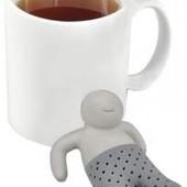 Силиконовый заварник , ситечко для чая 'человечек