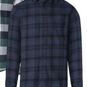 Отличная мужская фланелевая рубашка Livergy Германия размер M (48/50)