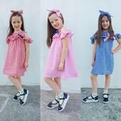летние платья- сарафаны на 3-8лет