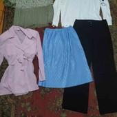 великий пакет одягу жіночого розмір 46-48