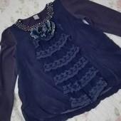 Гарненька блуза з рюшами на вашу дівчинку