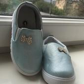 Детски туфельки макасины новые 24-30