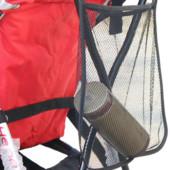 Сумка-сетка для мамы на коляску трость. Новая