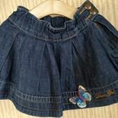 В стиле denim отличного качества юбка джинсовая