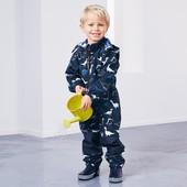 ☘ Комбинезон от Tchibo(Германия) для активных детей! Не продувается, не промокает, размер 98/104