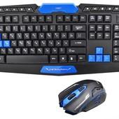 Беспроводный комплект (клавиатура и мышка) UKC HK-8100