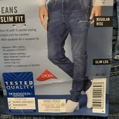 Мужские джинсы слим livergy размер евро 52