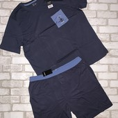 Крутая мужская летняя пижама,домашний костюм Livergy размер L