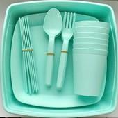 Набор для пикника в контейнере на 6 персон (32 предмета)