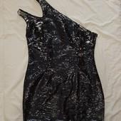 L-xl вечернее платье Glamorous в паетки на одно плечико ! УП скидка-10%
