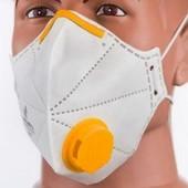 Новый Респиратор-маска Микрон с клапаном FFP2