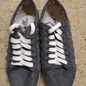Обувь сороконожки! Кеды 38 размер, стелька 24.5
