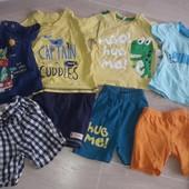 Пакет вещей лето 12-18 месяцев мальчик