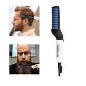 Утюжок-выпрямитель для бороды и волос modelling comb for beaut, мужской стайлер