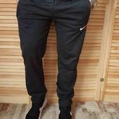 Спортивные штаны без манжета/ см замеры р46,54