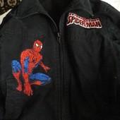 джинсовая детская куртка Disney - Spider-man для мальчиков