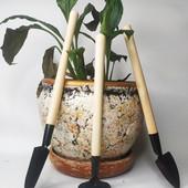 Набор огородника. Набор садовника 3в1. Инструменты для ухода за комнатными растениями