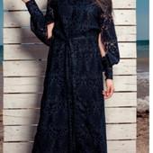 Шикарное красивое фирменное кружевное новое платье Navysand! Размер xxl. Смотрите замеры!!!!