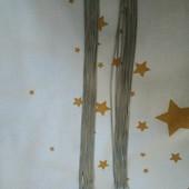 Шикарные длинные серьги серебряного цвета